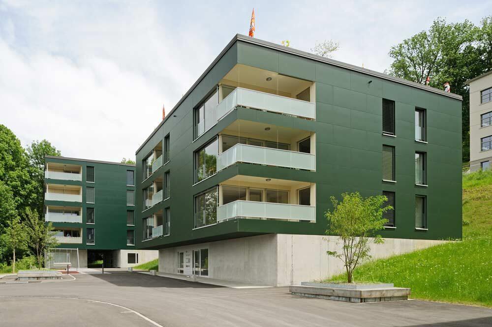 Bauengineering.com AG | Vorgehängte, hinterlüftete Fassaden mit Faserzement-Platten, Sigrist Felix AG, 2006/07 Fassadentechnik AG
